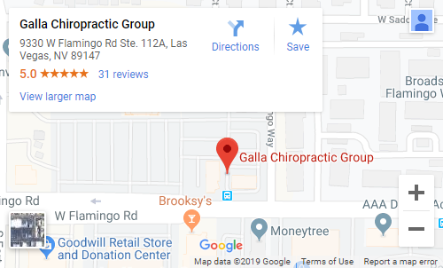 Chiropractor Map in Spring Valley NV